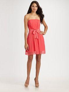 Zimmermann Ruched Silk Chiffon Dress