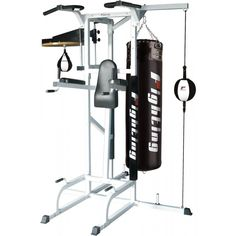 Unique Punch Bag Stand Pull Up Bar