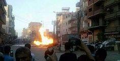 Mısır'da kilisedeki patlamada Ölü sayısı 21'e yükseldi