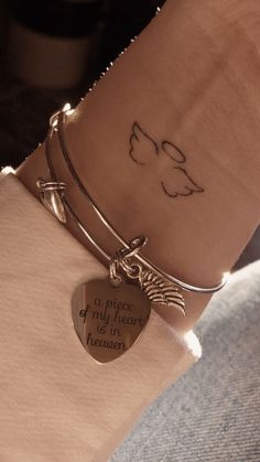 Cute Little Tattoos, Tiny Tattoos For Girls, Cute Small Tattoos, Unique Small Tattoo, Small Tattoos For Women, Small Quote Tattoos, Small Meaningful Tattoos, Small Wrist Tattoos, Sister Quote Tattoos