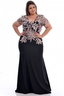 Vestido Plus Size Gloria Pires Moda Festa Plus Size, Vestidos Plus Size, Plus Size Party Dresses, Date Outfit Casual, Latest African Fashion Dresses, Mom Dress, Womens Cocktail Dresses, Coats For Women, Plus Size Fashion