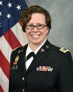 LTC Elizabeth Duque, Commander, Dunham U.S. Army Health Clinic, June 20, 2017.