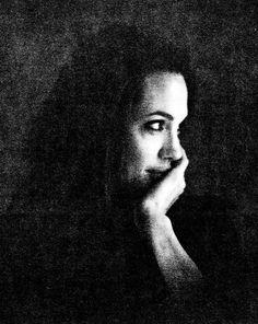 Angelina Jolie pictures W Magazine November 2008 by Brad Pitt 1