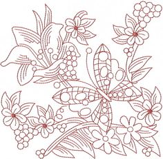 redwork embroidery patterns | club membership start piling up the free stuff now become an ann s ...
