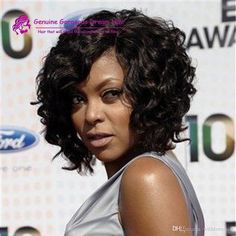 Taraji P Henson.my hair style icon! Long bob hairstyles are extremely in trends so wanna see the images of 20 Long Bob Hairstyles for Black Women? Here are the latest bob hairstyle trends for. Curly Bob Hairstyles, Curly Hair Styles, Natural Hair Styles, Black Hairstyles, Hairstyles 2018, Quick Weave Hairstyles, Female Hairstyles, Crochet Bob, Women's Curling