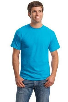 Hanes - ComfortBlend EcoSmart 50/50 Cotton/Poly T-Shirt.  5170 #tshirt #menstshirt