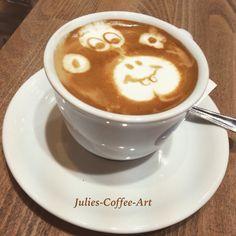 #latteart #barista #coffee #cappuccino #monkey