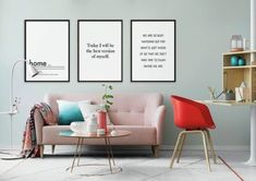 Is it Friday already! Need some Monday motivation ASAP to kick off next week like a champ? Check out the Typography and Quotes category of our posters and get motivation whenever you need it at home.