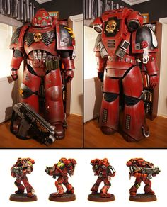 Warhammer 40k cosplay made by the most insane cosplayer I've seen on YouTube