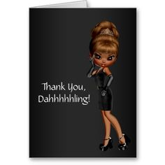 Shop African American Princess Diva Thank You Cards created by The_Thank_You_Store. Birthday Wishes For Myself, Birthday Thank You, Birthday Quotes, 50th Birthday, Birthday Cards, Thank You Images, Thank You Quotes, American Card, American Women