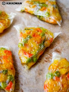 Croustillantes et Chewy Rice Paper Wrap Recipes, Indian Food Recipes, Asian Recipes, Real Food Recipes, Vegetarian Recipes, Cooking Recipes, Healthy Recipes, Rice Paper Wraps, Rice Wraps