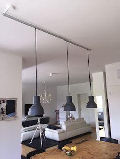 "[einzelteil berlin]: [einzelteil] VIII - Dining table lamp ""hectares of hack"" # IKEA . Dining Table Lighting, Dining Room Light Fixtures, Diy Interior, Interior Design Living Room, Hektar Ikea, Kitchen Pendants, Key Kitchen, Home Lighting, Lighting Ideas"