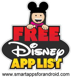 Smart Apps For Android: FREE Disney Apps - NOW 38 free apps for kids (best free Android apps for kids)