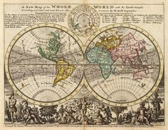 Moll - A new map of the whole world with the trade winds - Herman Moll - Wikipedia, the free encyclopedia
