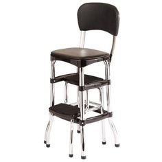 step stool with seat and back - Google Search