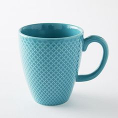 Love this color! Having a mug that makes me smile in the morning is one of my favorite self-care moves. :: Set of four textured mugs from West Elm (they are on sale right now)