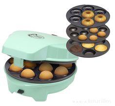 Máquina 3 en 1 para cupcakes, donuts y cake pops