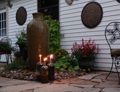 DIY Tiki Torches.