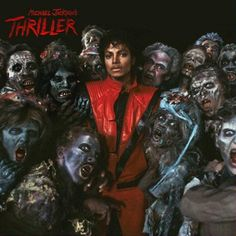 Michael Jackson's Thriller. 1982. For one of my birthdays my parents actually rented the VHS of Thriller and how the made it. It was really neat. This is still a awesome album.