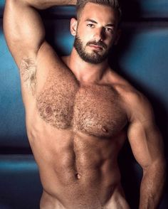 Furpect, Male Model, Good Looking, Beautiful Man, Guy, Handsome, Hot, Sexy, Eye Candy, Beard, Muscle, Hunk, Armpits, Hairy Chest, Abs, Six Pack, Shirtless 男性モデル