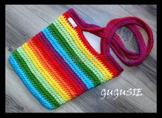Tęczowa torebka dla dziewczynki.  www.gugusie.com.pl