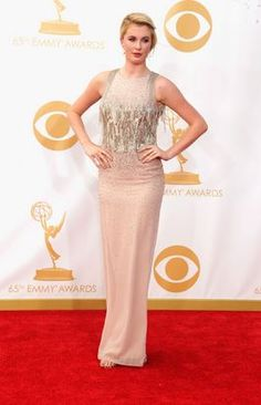 "6'2"" tall Ireland Baldwin at the Emmys."