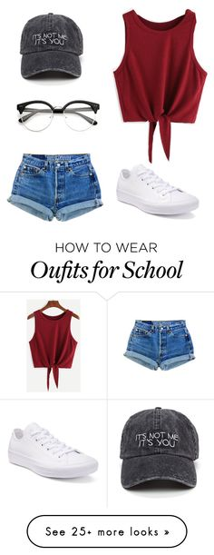 """""""#Its Not Me Its You"""" by emilyaa on Polyvore featuring Converse"""