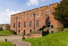 Shrewsbury castle built by Edward the first circa 1300 in Shropshire England - Buy this stock photo and explore similar images at Adobe Stock Shrewsbury Castle, Shrewsbury England, Shrewsbury Shropshire, River Severn, Monuments, Riverside Park, Next Holiday, Weekends Away, Medieval Castle