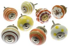 Classic & Vintage Ceramic Knobs – Ideal for Doors, Drawers, Wardrobes Ceramic Door Knobs, Cupboard Knobs, Vintage Ceramic, Nespresso, Kitchen Appliances, Ceramics, Wardrobes, Classic, Drawers