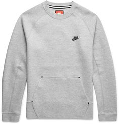 Cut from Nike's soft, breathable Tech Fleece, this sweatshirt is a supremely comfortable option. The pared-back design makes it an easy choice whether you're hitting the gym or relaxing at home. Wear it with dark denim or athletic shorts. Grey Sweatshirt, Sweater Hoodie, Men Sweater, Mens Sweatpants, Mens Sweatshirts, Nike Clothes Mens, Mens Designer Hoodies, Nike Athletic Shorts, Tech Fleece