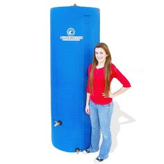 The Homestead Survival: 260 Gallon Upright Water Storage Tank Homestead Survival, Camping Survival, Survival Prepping, Survival Skills, Survival Stuff, Survival Food, Survival Hacks, Emergency Water, In Case Of Emergency