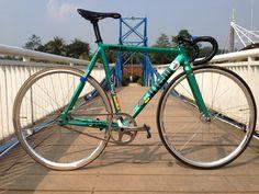 Cinelli Mash Repaint Green - Pedal Room