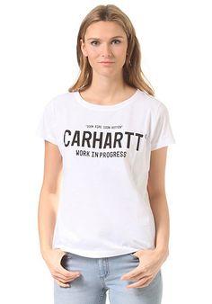 CARHARTT WIP Juliette - T-Shirt für Damen - Weiß - Planet Sports