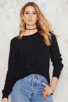 Sia Knit Black