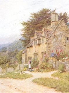 At Whittington, Glos. by Helen Allingham