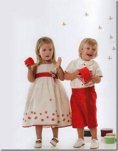 Vestidos para niños (arras)