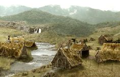 Viking village, Sweden