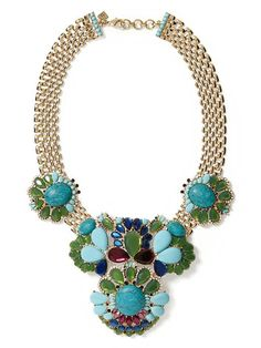 Banana Republic Statement Necklace - WOW FUn (and only $24!!)
