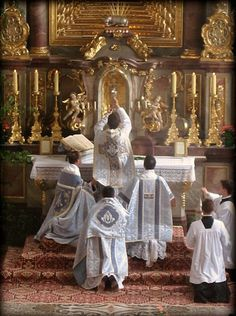 st. peter priestly fraternity altar - Bing images