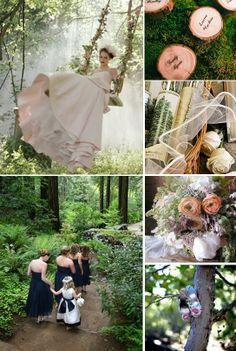 enchanted forest wedding | forest wedding ideas enchanted-forest-wedding