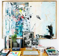 Artist in Residence: Inside Cold War Kids' Matt Maust's L.A. Studio via @MyDomaine
