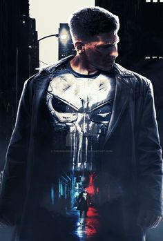 The punisher - Fan art Poster by TheamazingBlackman