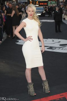 Iggy Azalea Rocks Some Sky High Heels In LondonIggy Azalea Heels