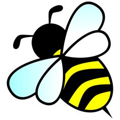 free cute bee clip art an illustration of a cute bee free stock rh pinterest com bumblebee clipart free clipart bumblebee transformers