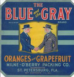 Florida's Vintage Citrus Labels