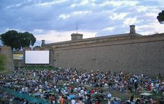 Sala Montjuic is an outdoor film festival in July and is a great way to spend some of those Barcelona summer nights!