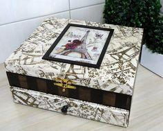.caja estilo vintage