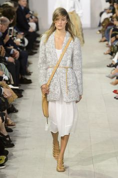 Fashion Week : Michael Kors Collection sacre le printemps | Le Figaro Madame