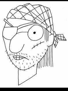 pirate coloring page see httpwwwcoloringwscoloring - Coloring Ws Coloring Pages