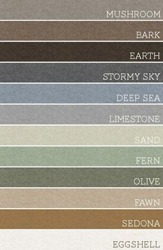 Take any set of 3 of these colors and each room would be amazing. A palette for the whole house @ Filomena Spa Pinterest #Lifestyle #Wellness #FilomenaSpa